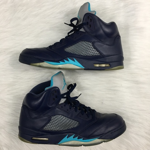 4f45f03329a Jordan Shoes | Air Retro V 5 Hornets Midnight Navy Nice | Poshmark
